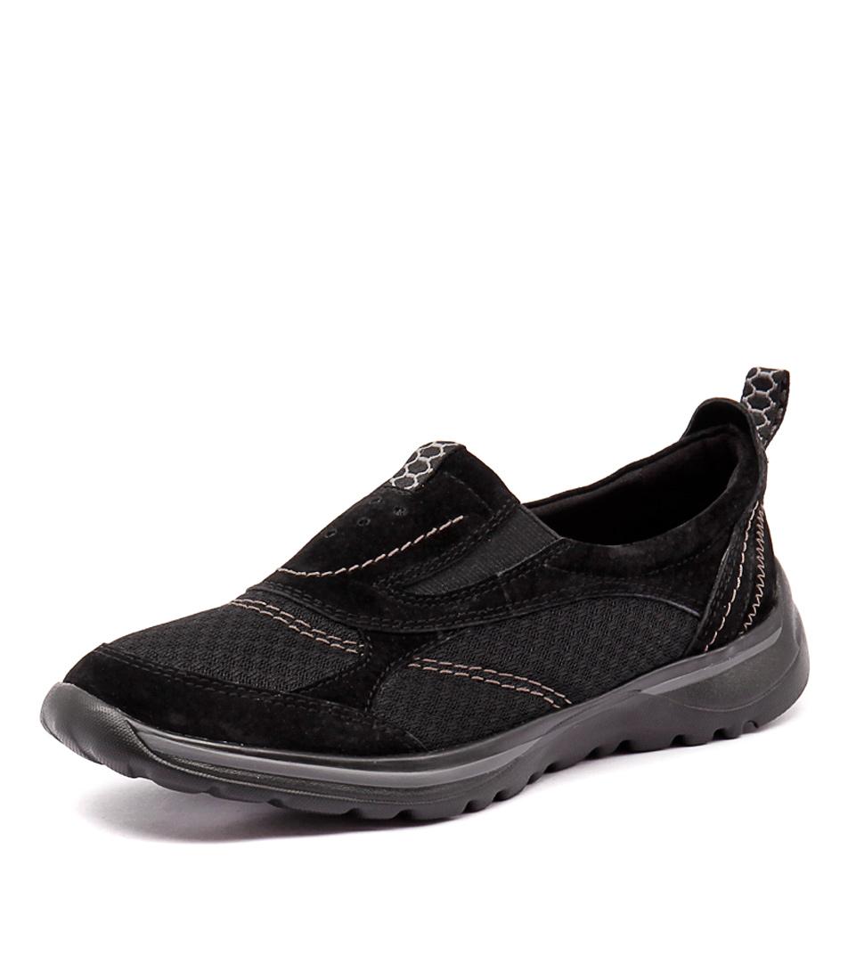 Planet Kensi Black Sneakers