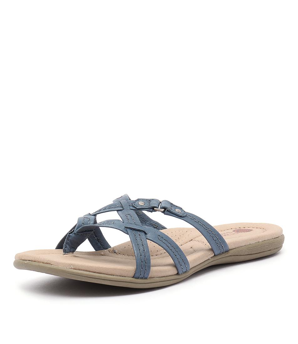 Planet Carla Blue Sandals
