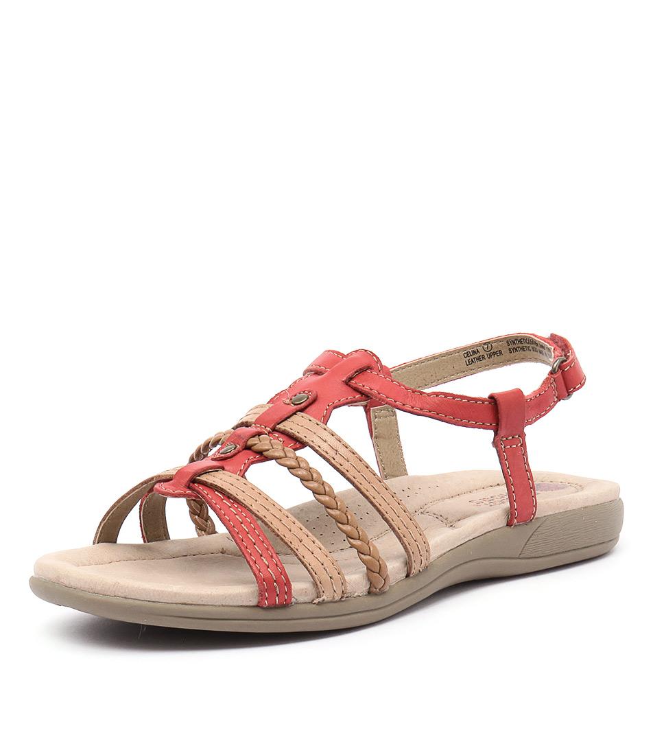 Planet Celina Coral Sandals