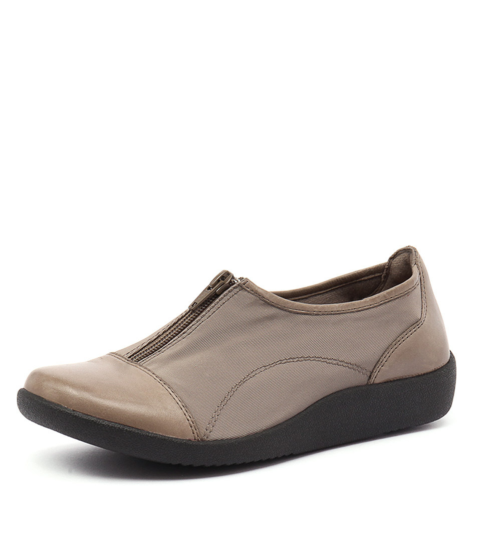 Planet Glam Taupe Loafers