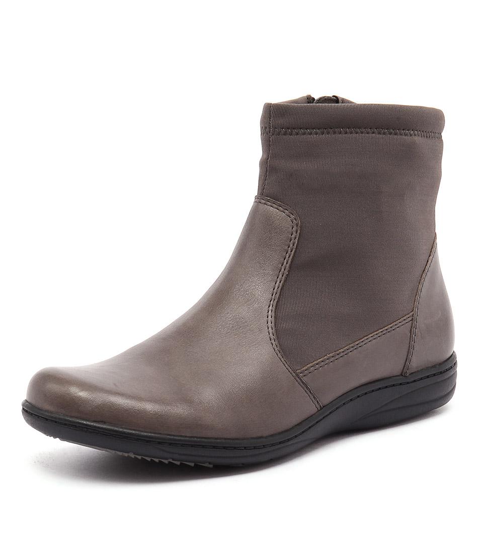 Planet Revel Grey Boots
