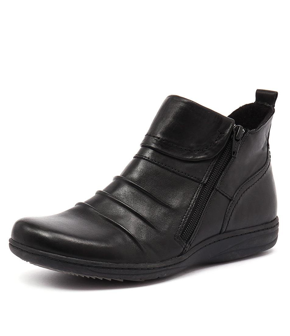 Planet Ripple Black Boots