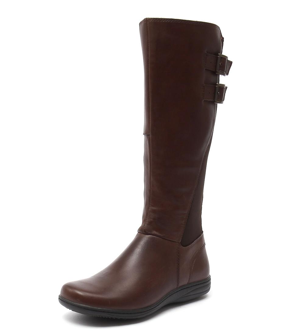 Planet Raise Brown Boots