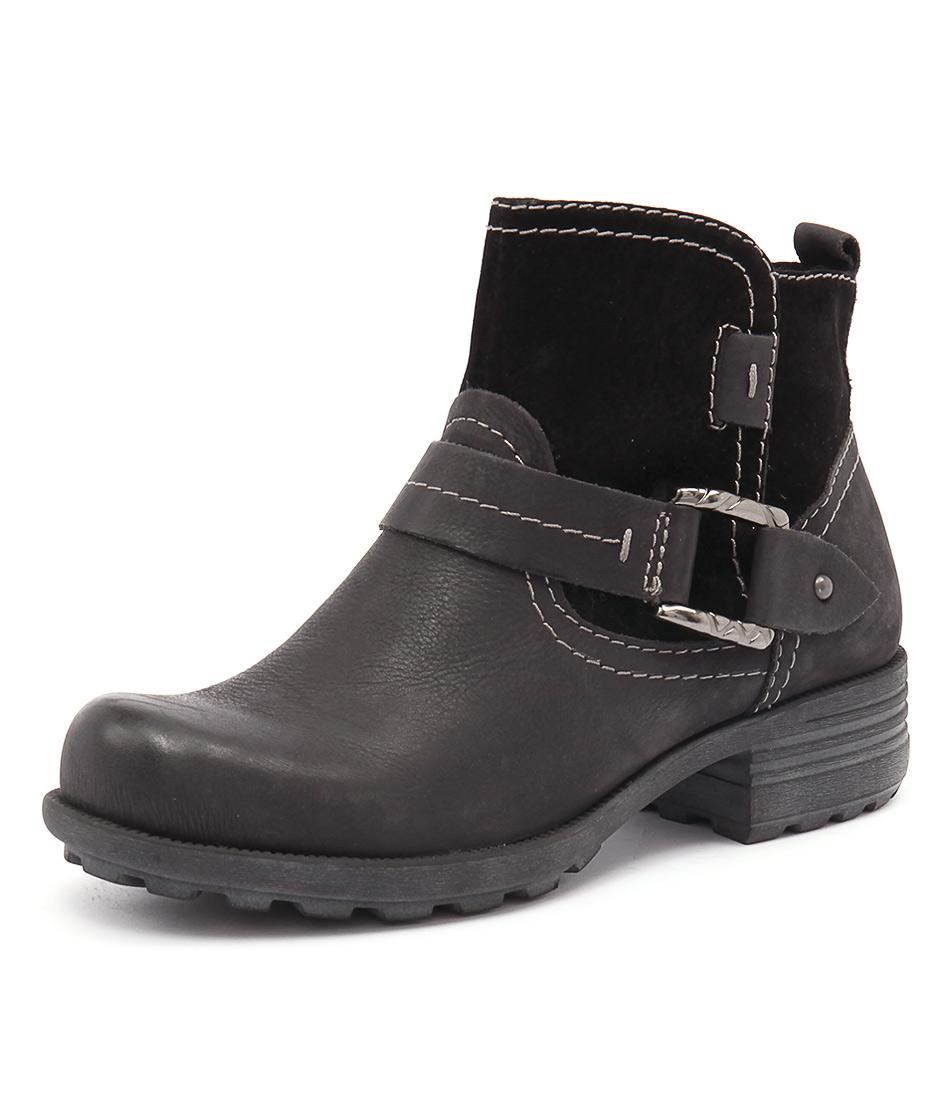 Planet Pale Black Boots