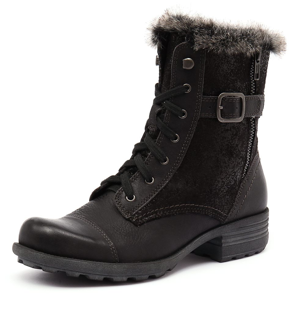 Planet Pinto Black Boots