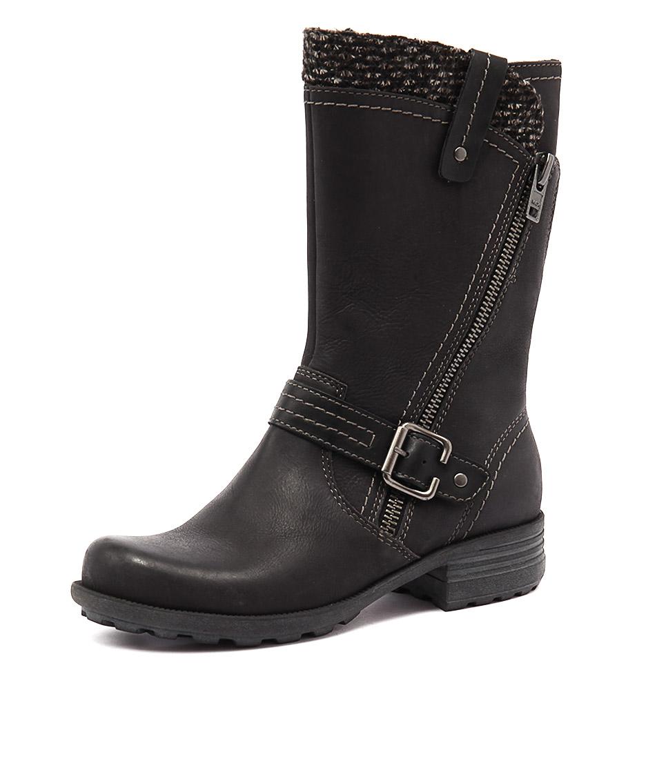 Planet Pugg Black Boots