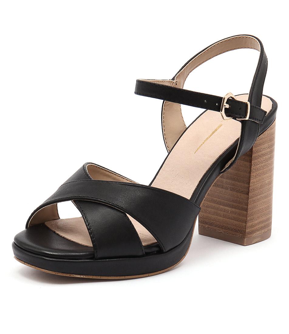 RMK Brenda Black Sandals