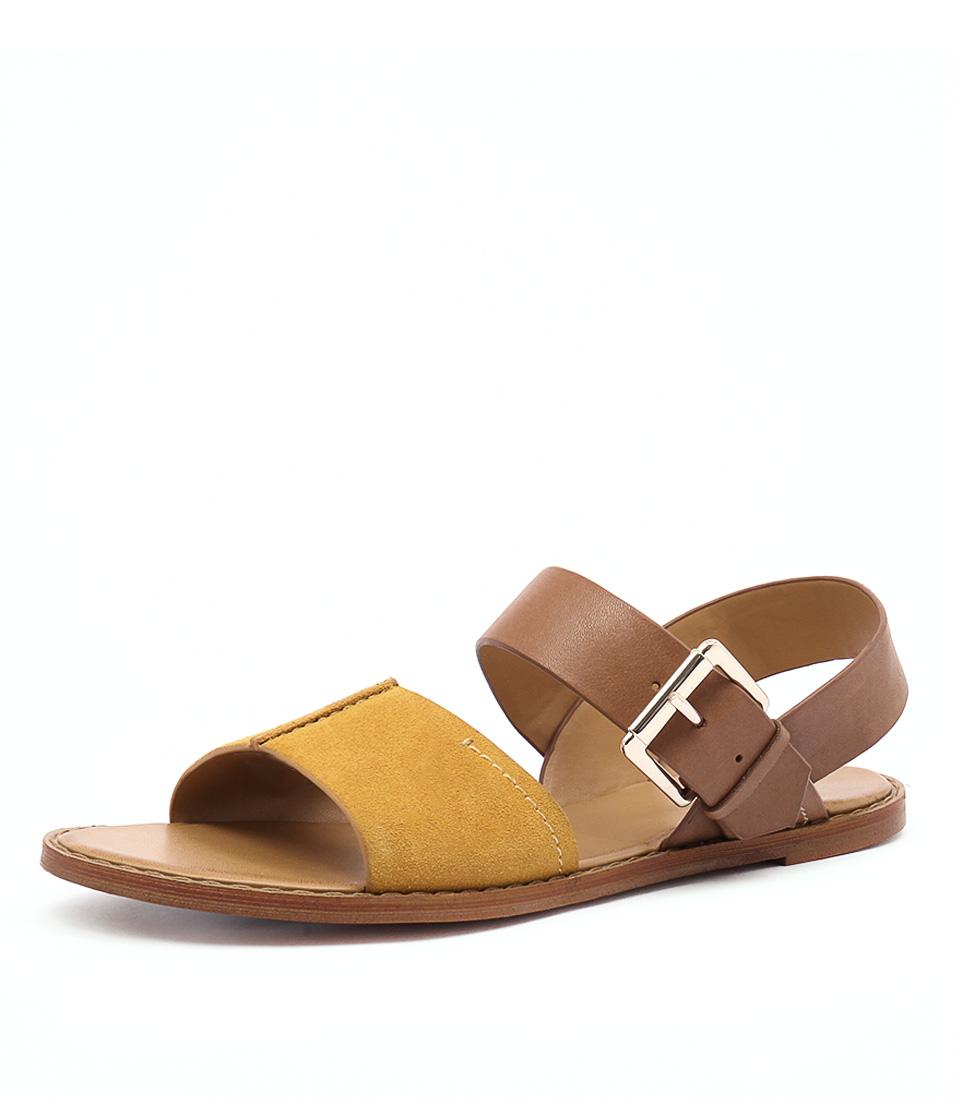 RMK Maddox Cognac Multi Sandals