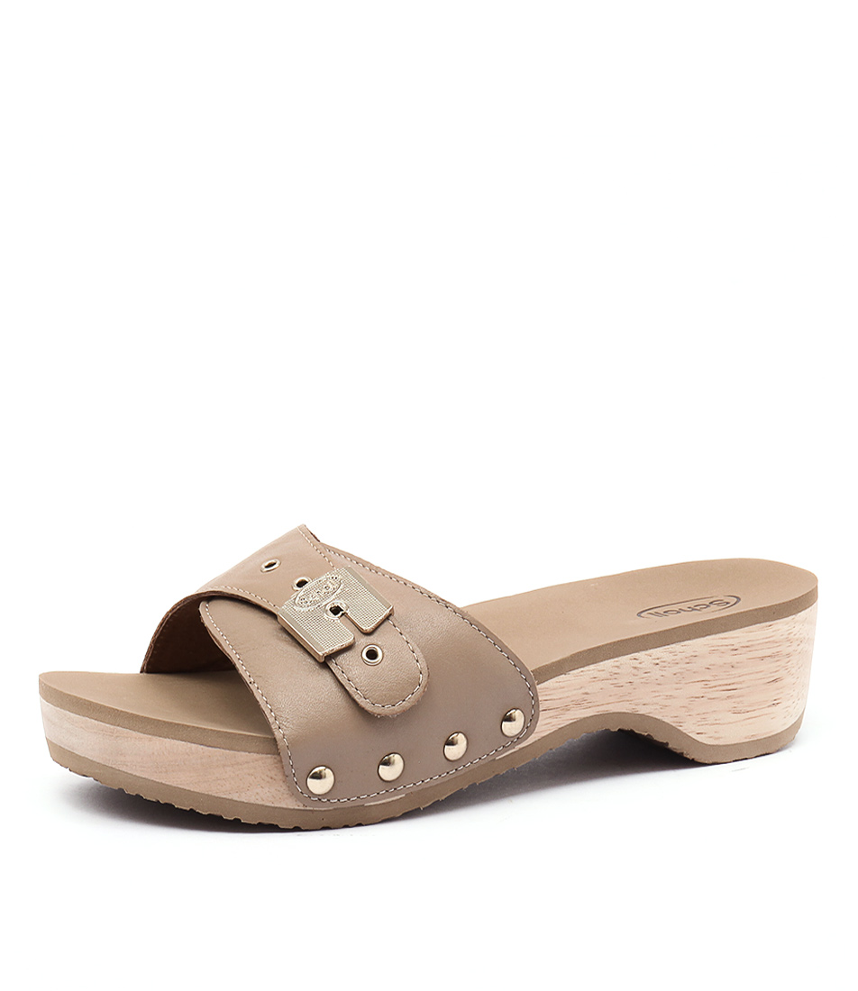 Scholl Paramount Beige Sandals