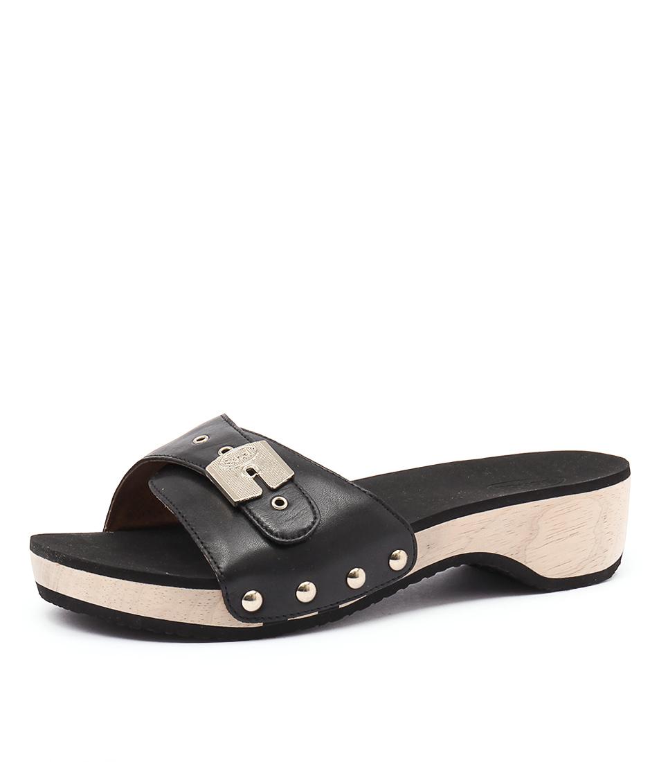 Scholl Paramount Black Sandals