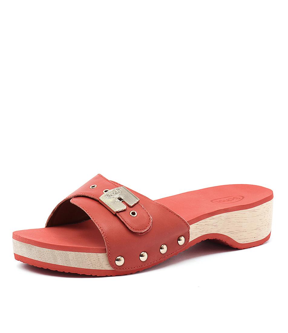Scholl Paramount Tangerine Sandals