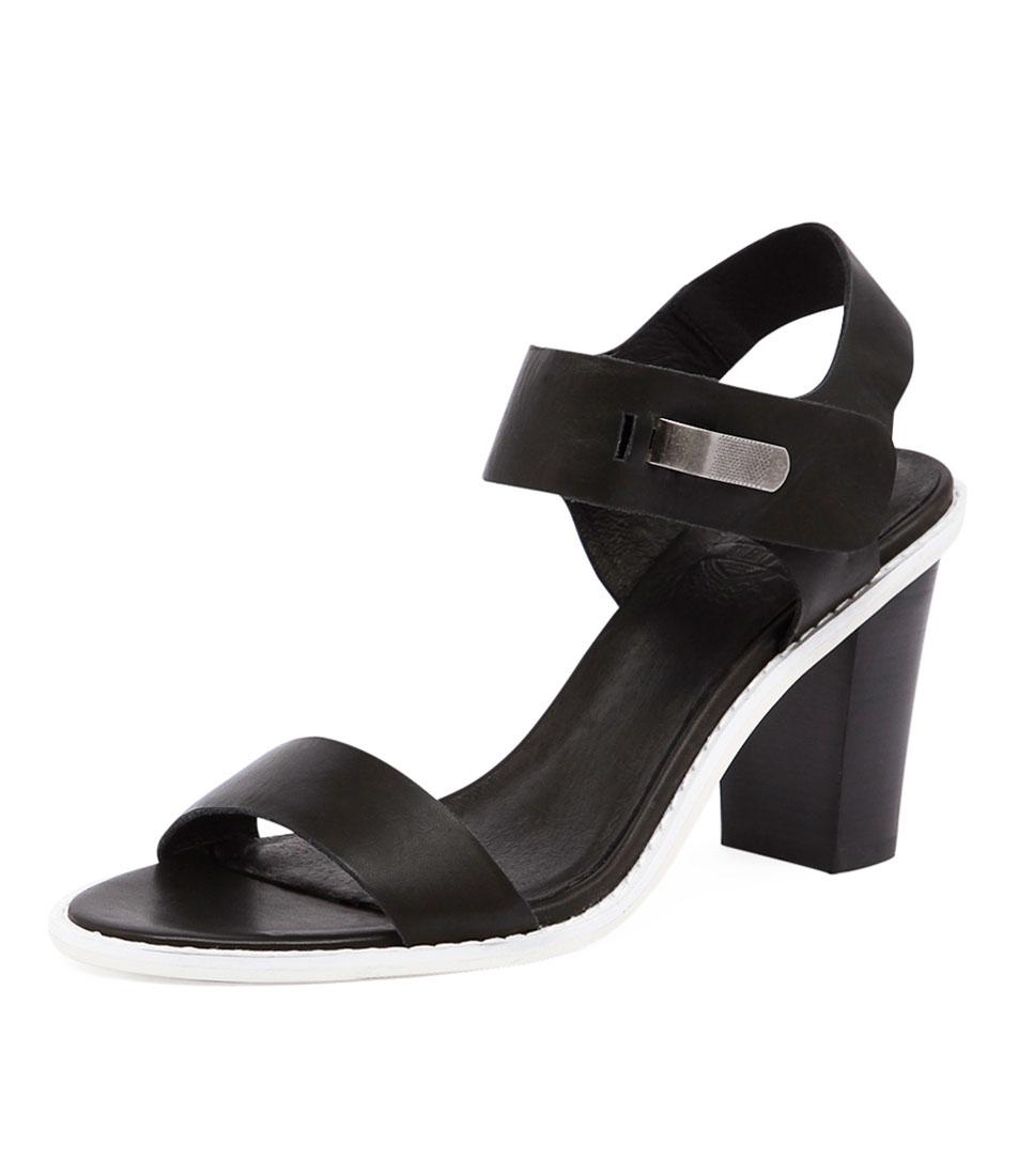 Silent D Etna Black Sandals