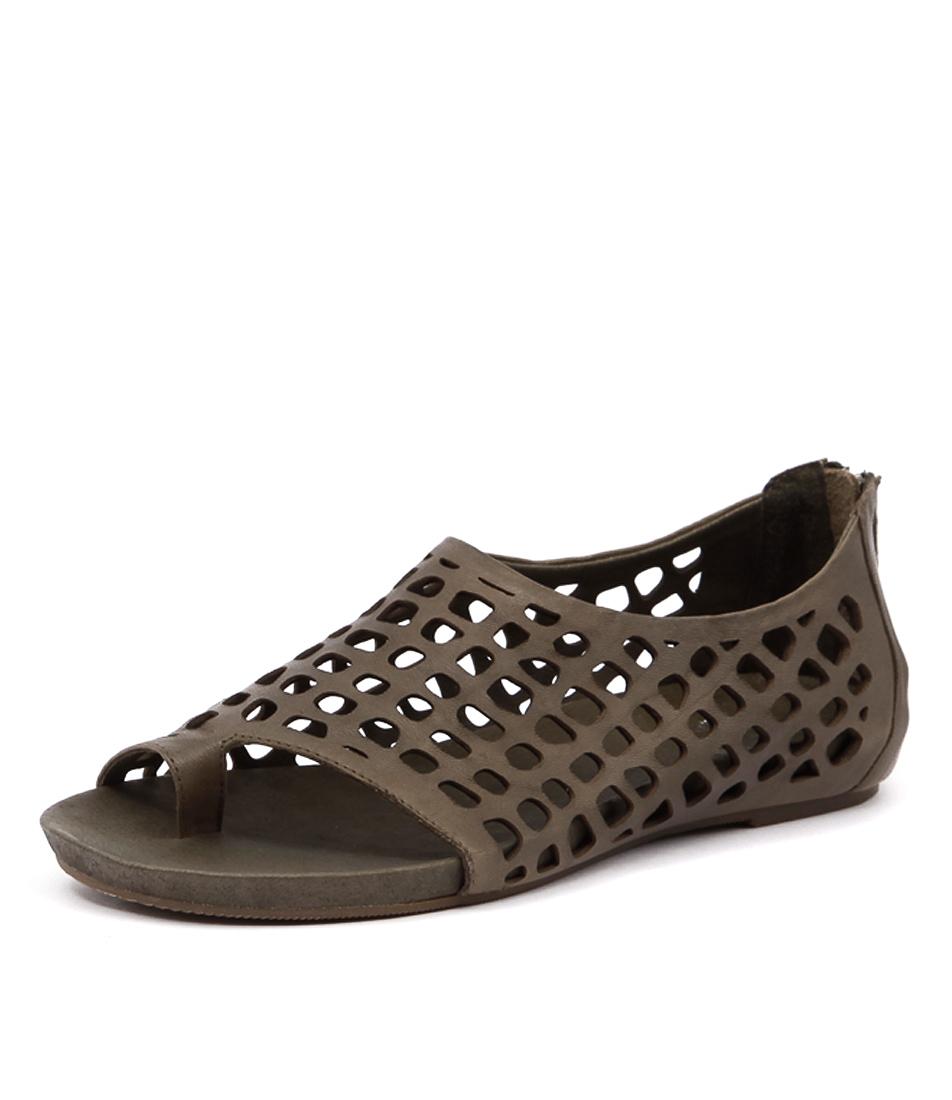 Silent D Dryas Olive Shoes