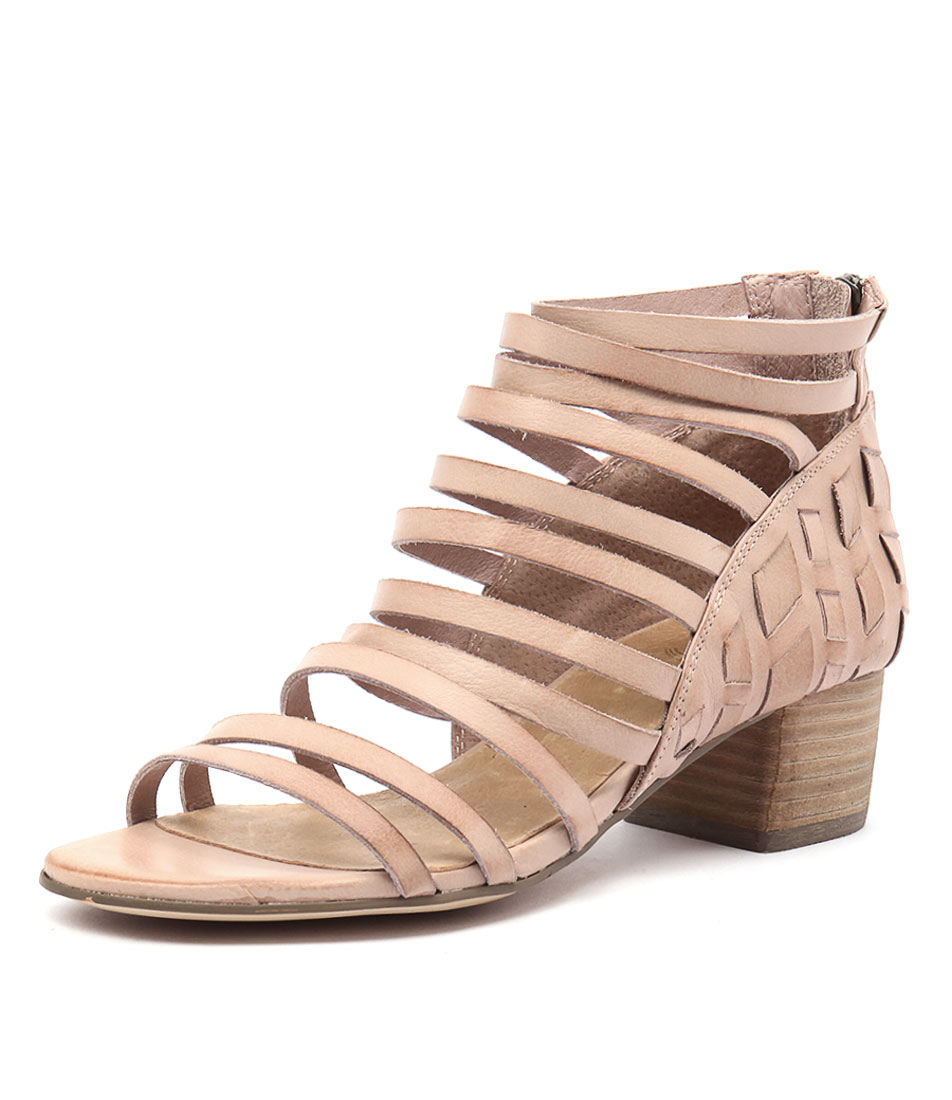 Silent D Erica Cafe Leather Sandals