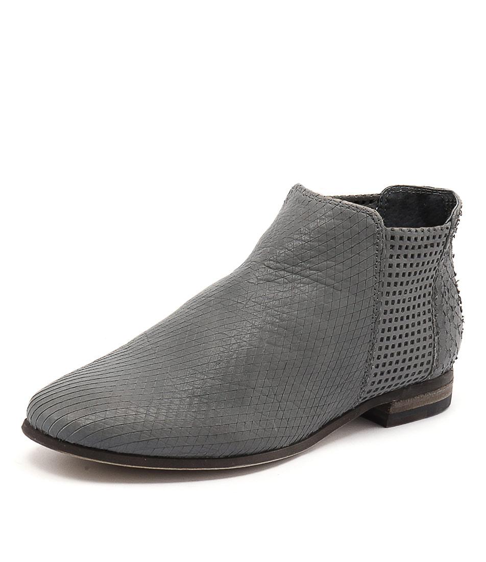 Silent D Consue Dark Grey Boots