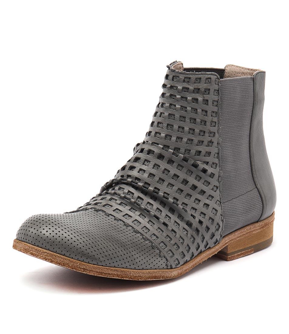 Silent D Lyric Dark Grey Boots