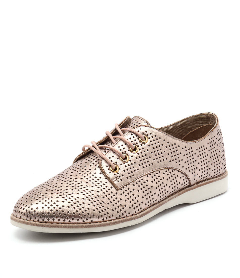 Silent D Navaho Rose Gold Wash Shoes
