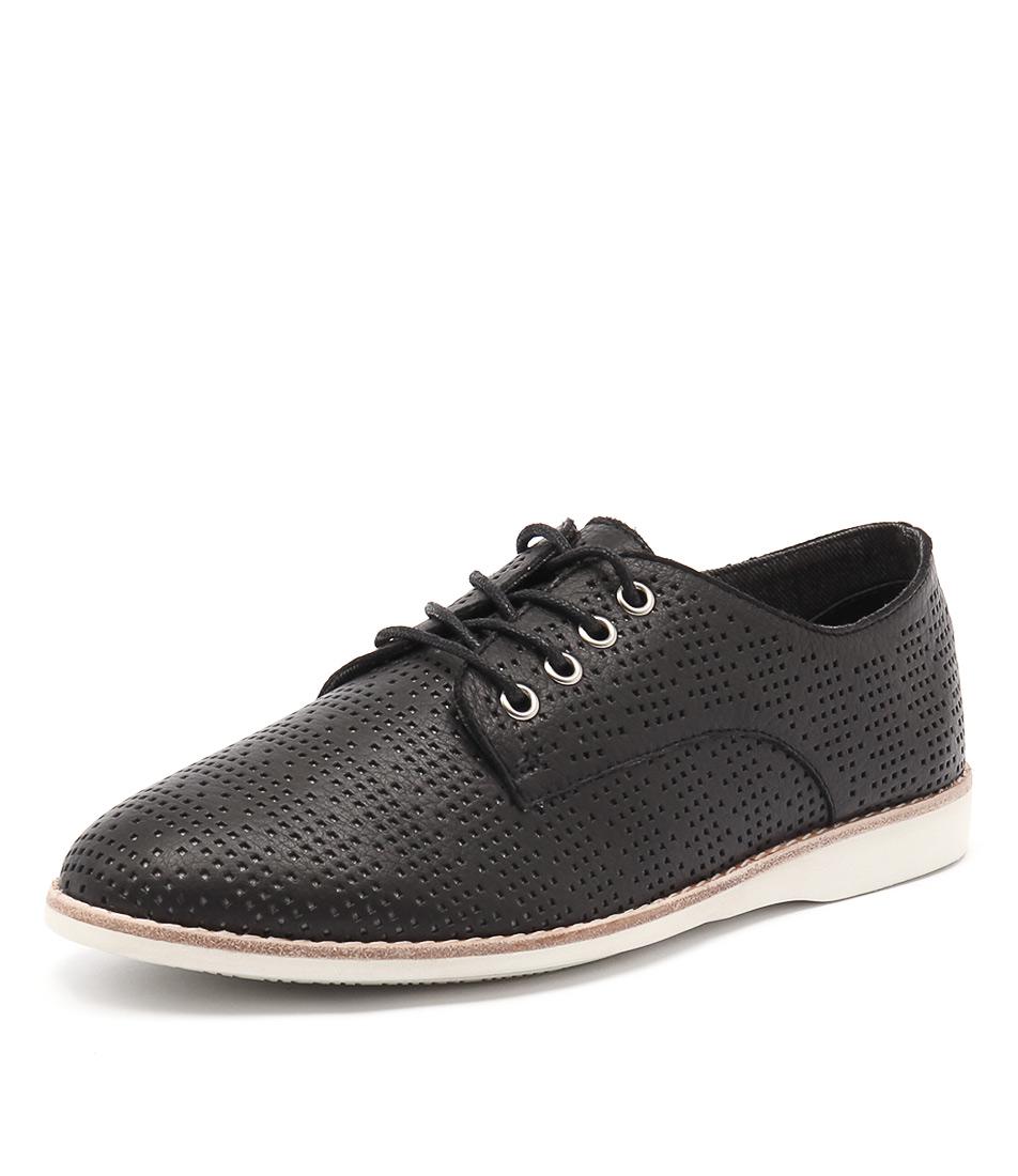 Silent D Navaho Black Shoes