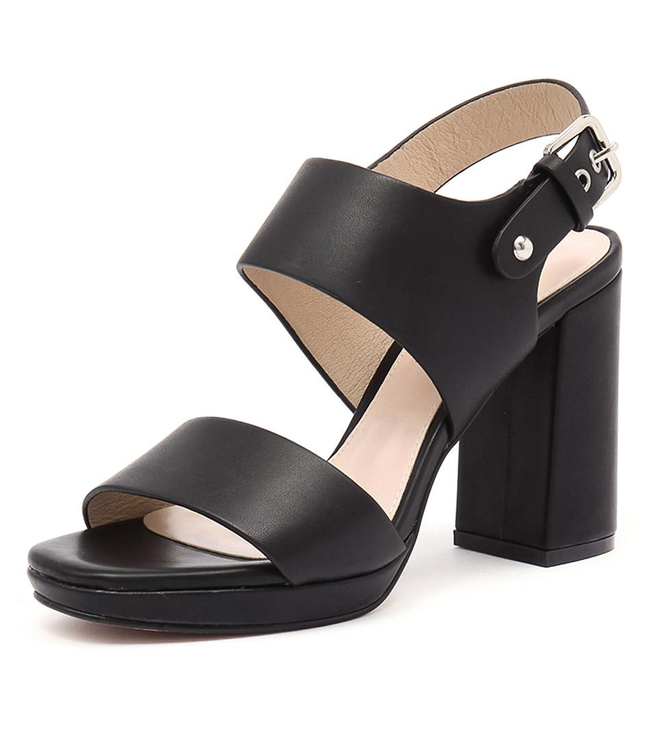 Siren Famous Black Sandals