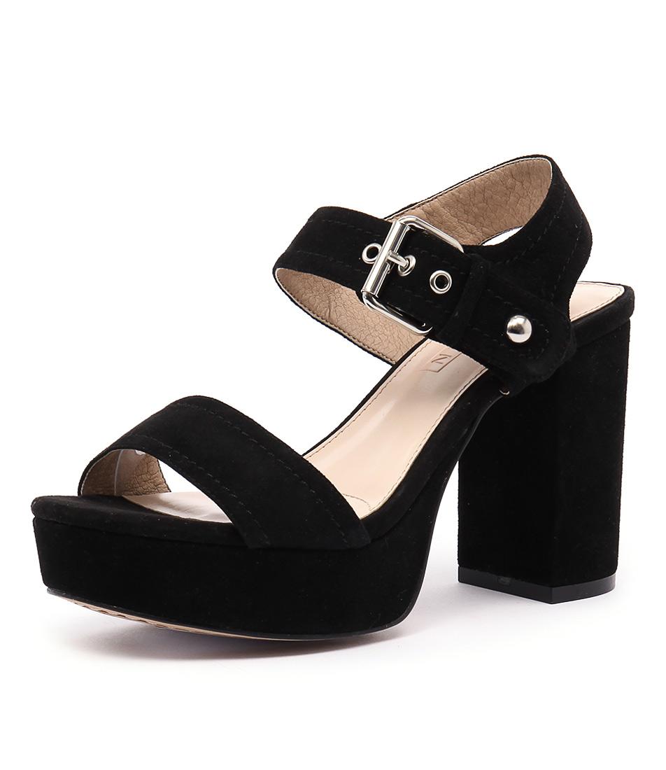 Siren Montana Black Sandals
