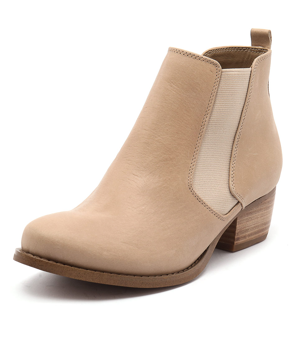 Siren Lulu Light Tan Leather Boots