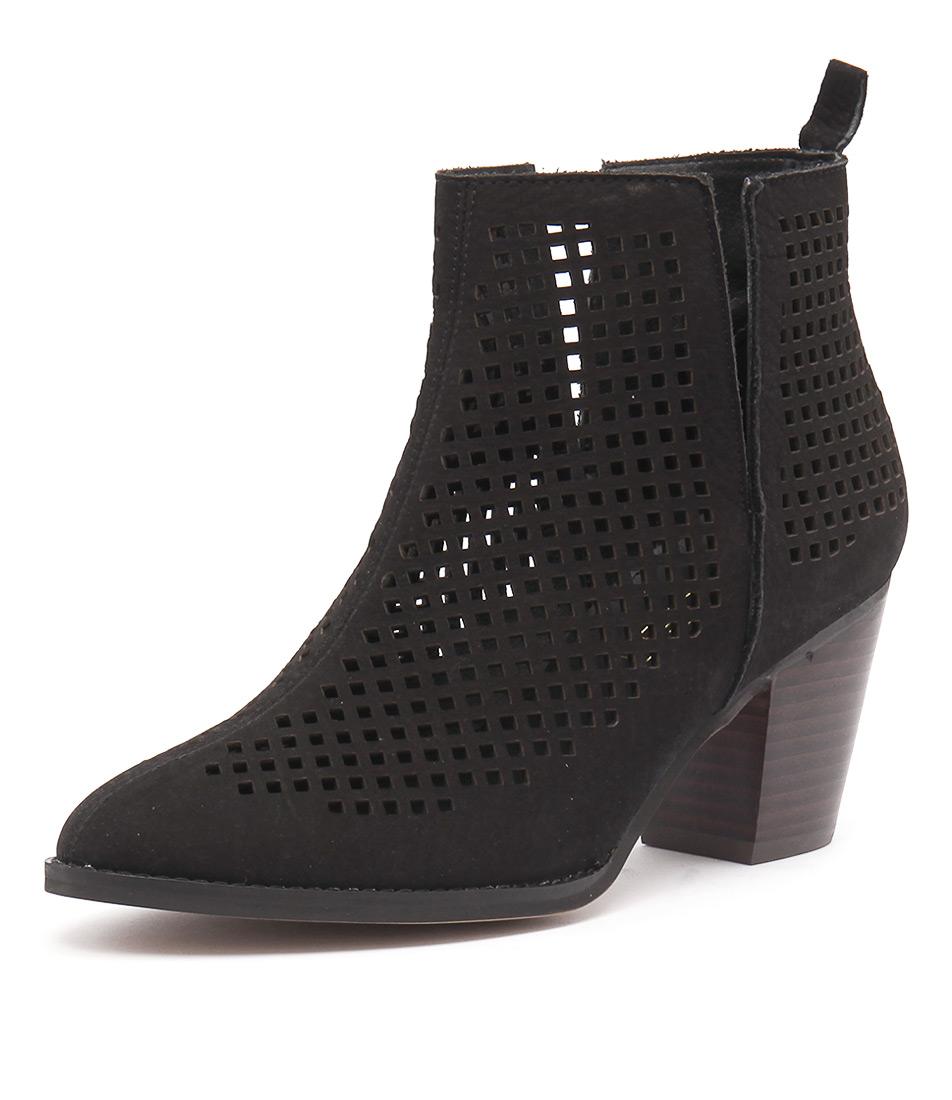 Siren Melanie Black Nubuck Boots online