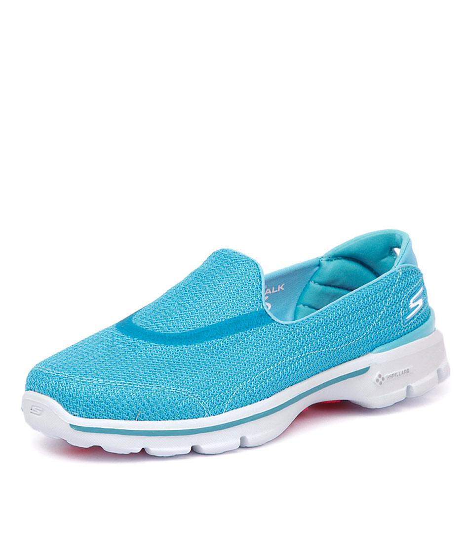 Skechers Go Walk 3 Turquoise Sneakers
