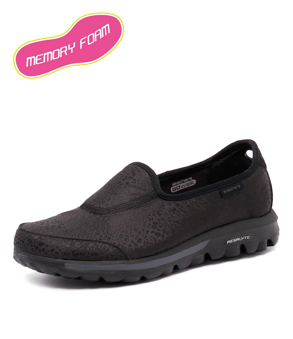Skechers Go Walk Untamed Animal Black Sneakers online