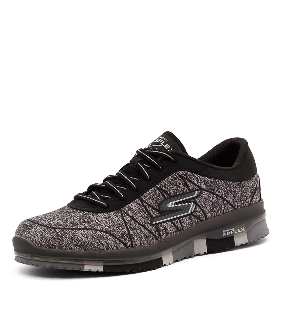 Skechers Go Flex Ability Black-Grey Sneakers online
