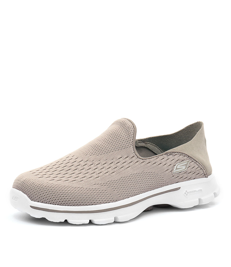Skechers Go Walk 3 Domination Stone Sneakers