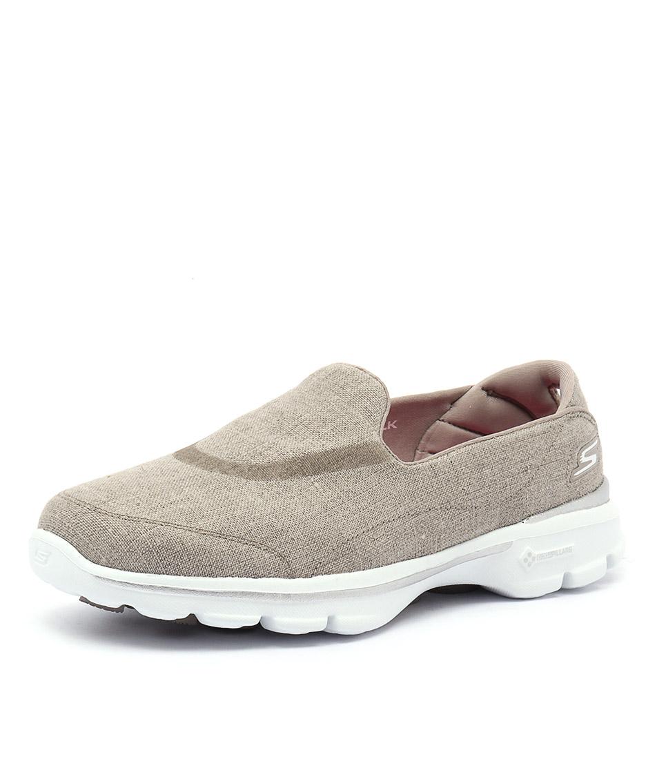 Skechers Go Walk 3 Riviera Khaki Sneakers