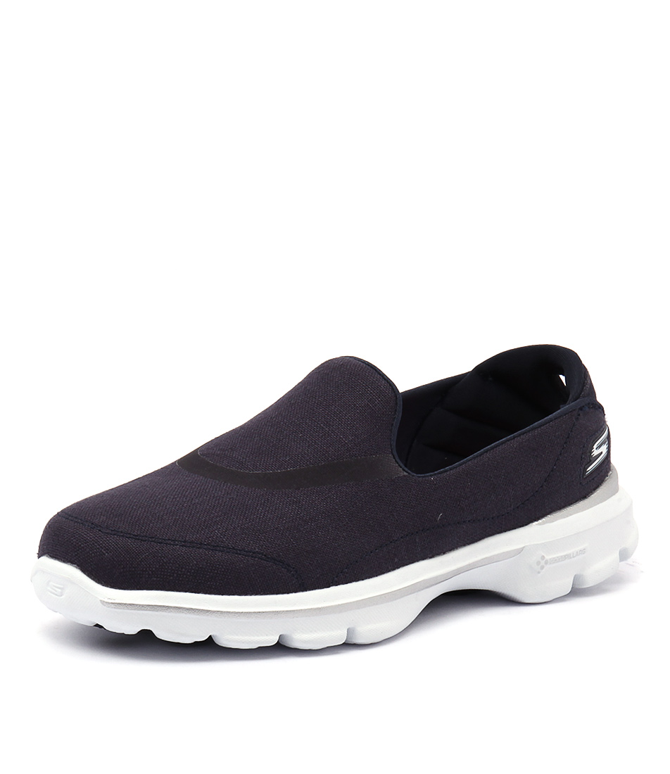 Skechers Go Walk 3 Riviera Navy-White Sneakers