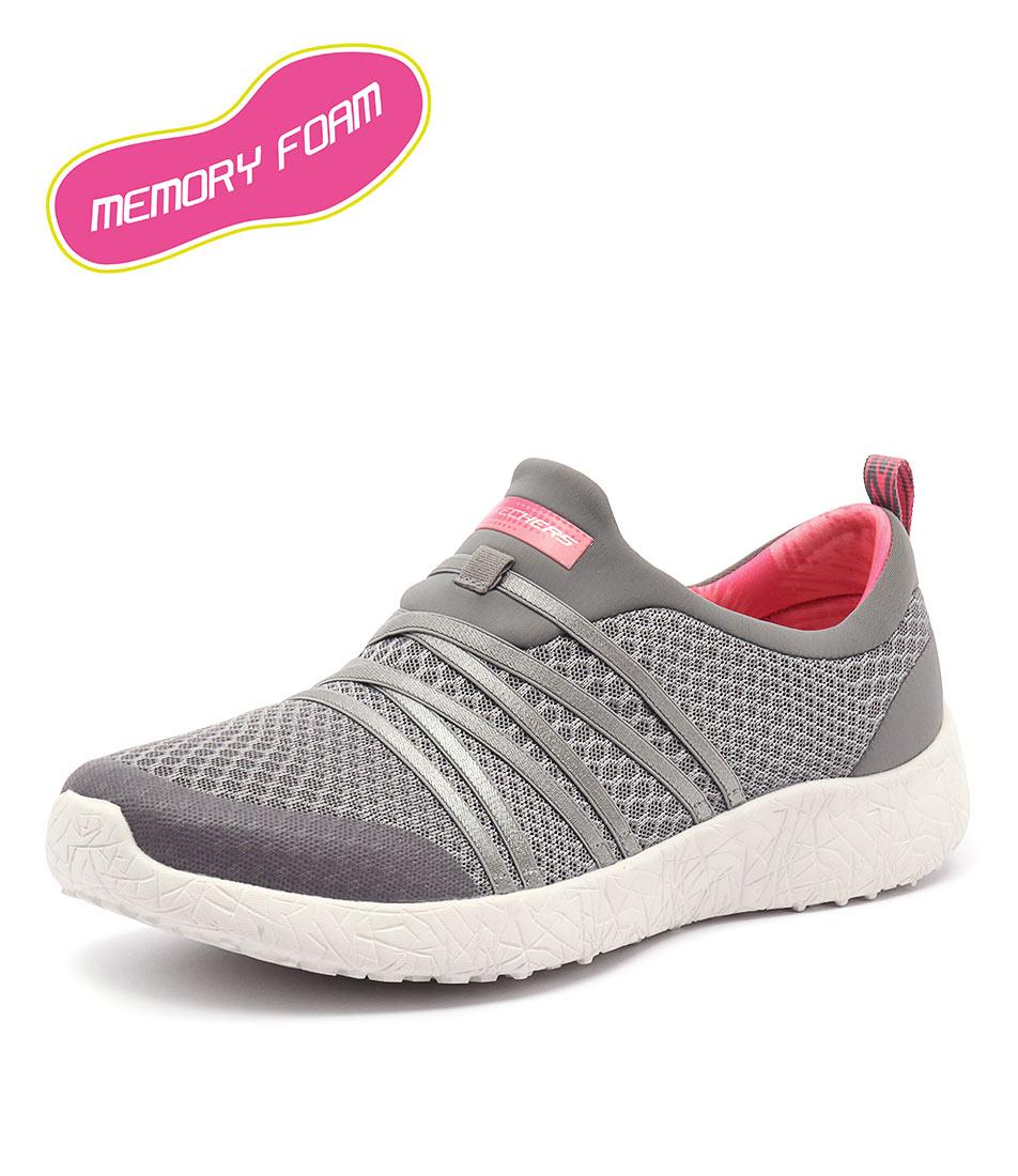 Skechers Burst Very Daring Grey-Coral Sneakers online