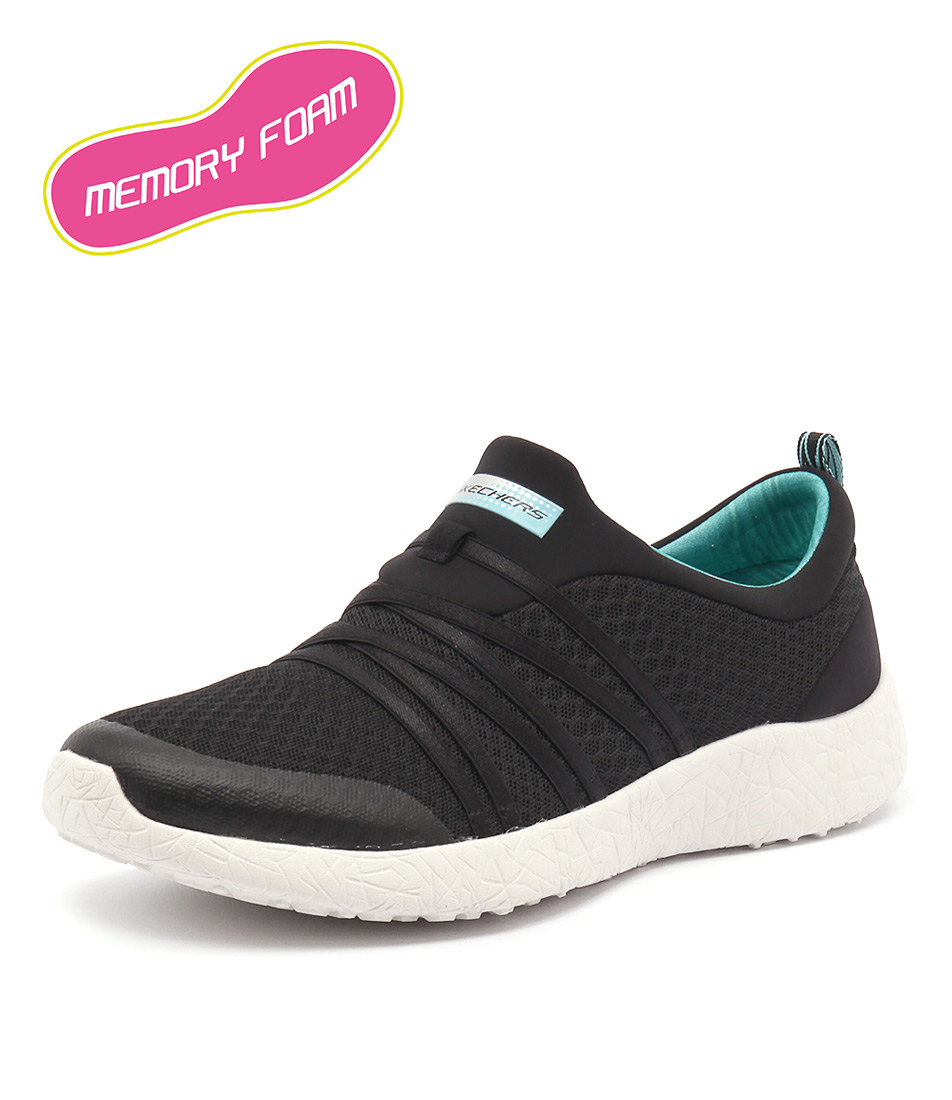 Skechers Burst Very Daring Black-Turquoise Sneakers online