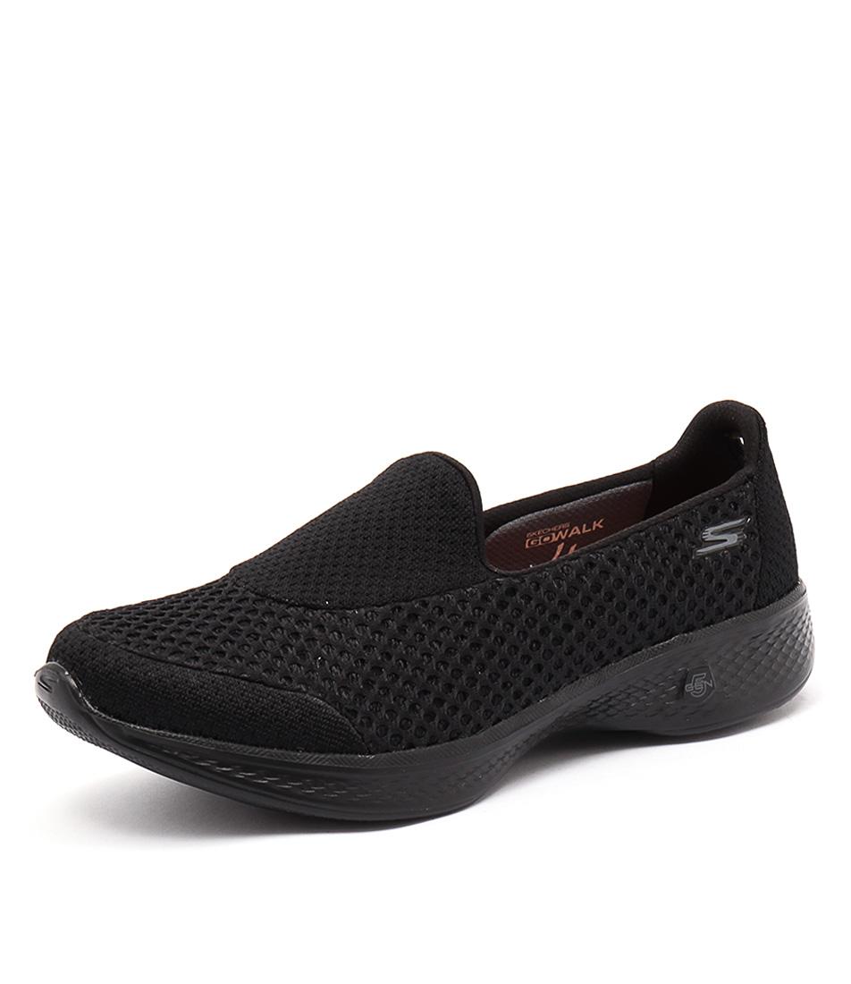 Skechers Go Walk 4 Kindle Black Sneakers online