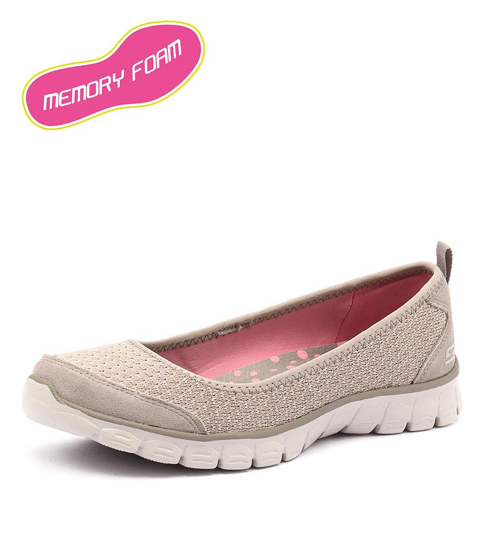 Skechers Ez Flex 3.0 Serene Scene Taupe Loafers