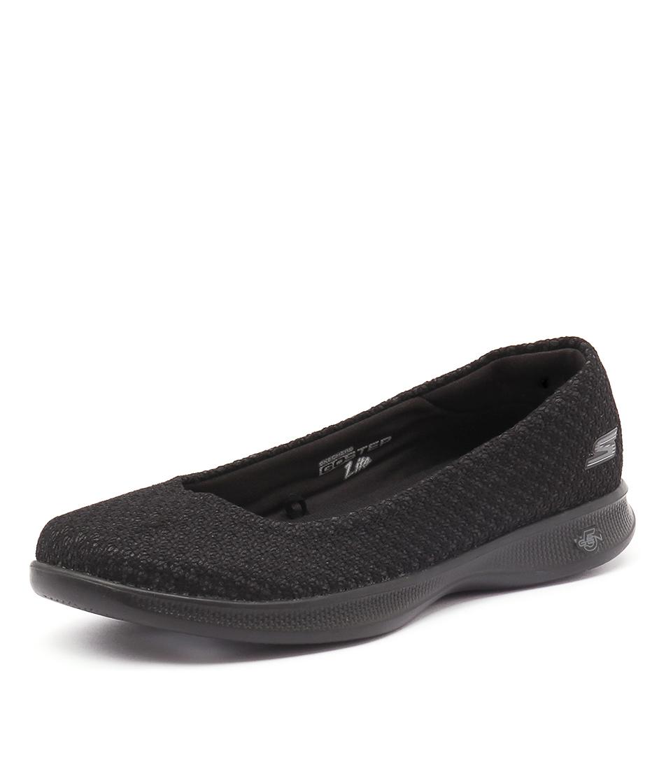 Skechers Go Step Lite Ballet Black-Black Sneakers