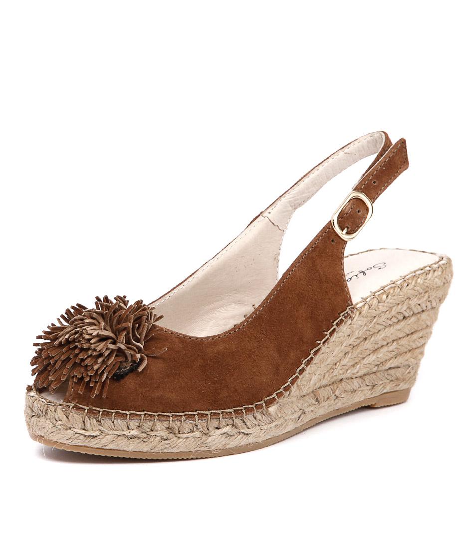 Sofia Cruz Ana 100 Cuero Sandals