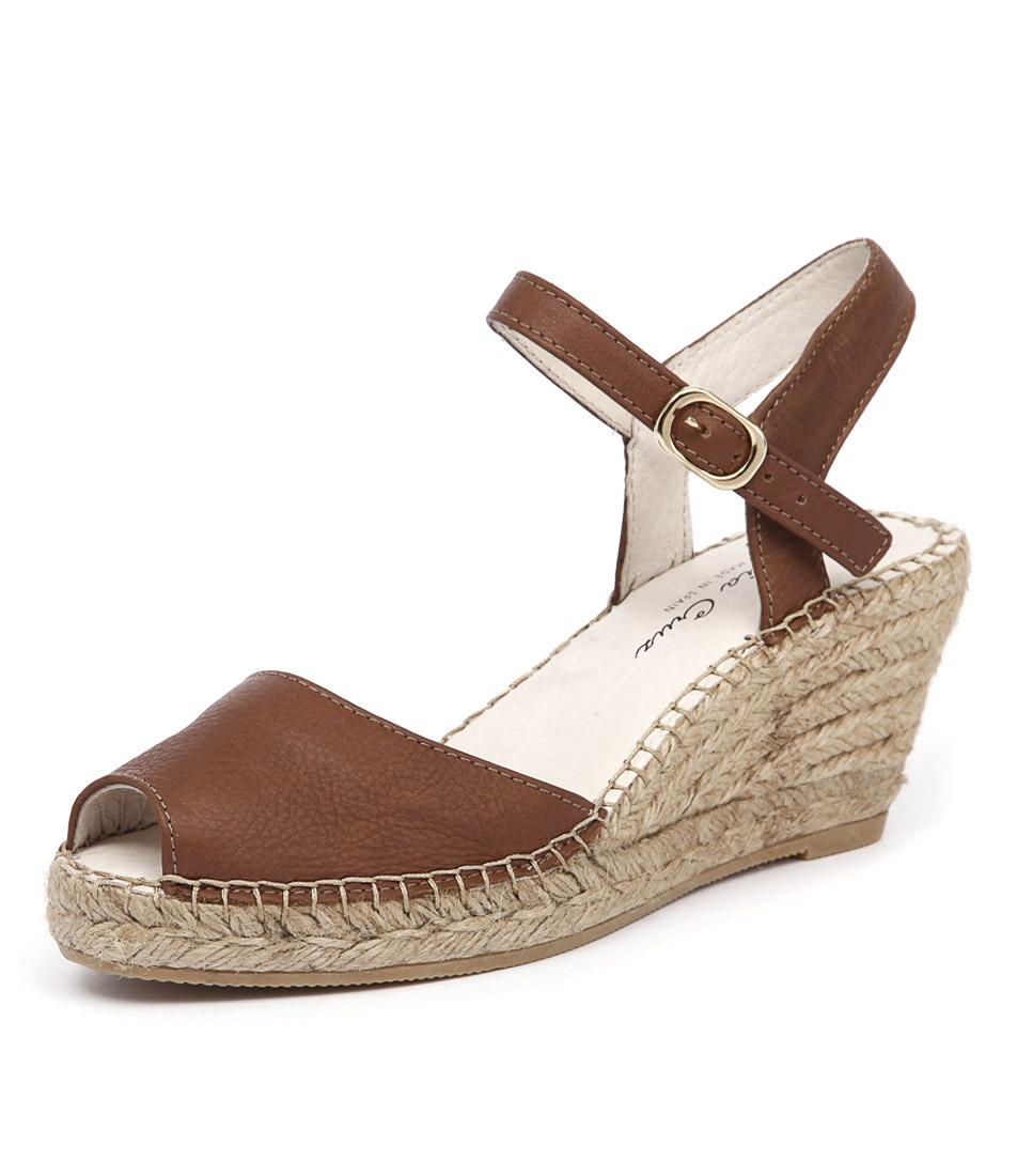 Sofia Cruz Ana 107 Cuero Sandals