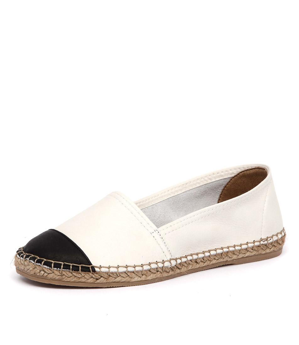 Sofia Cruz Dama 122 Blanco-Negro Shoes