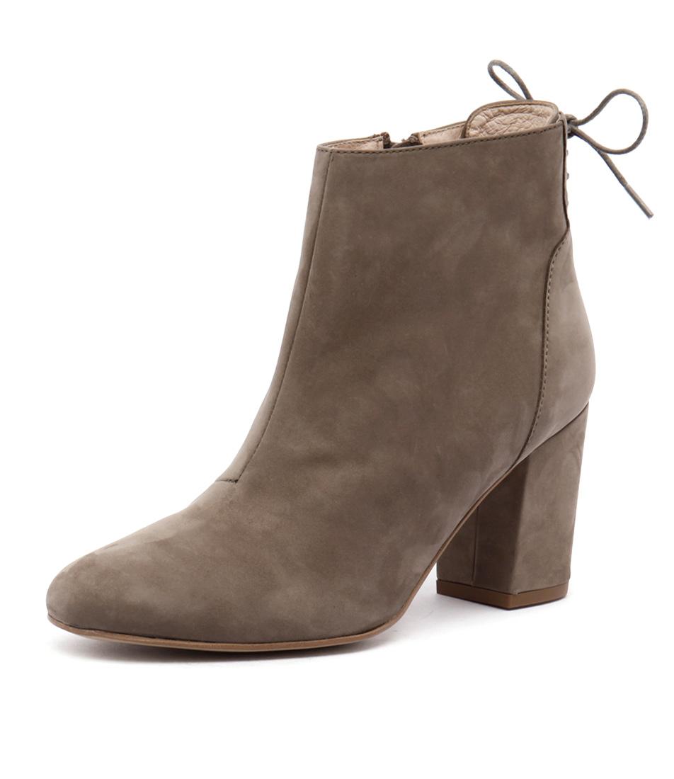 Sofia Cruz Tully Taupe Boots