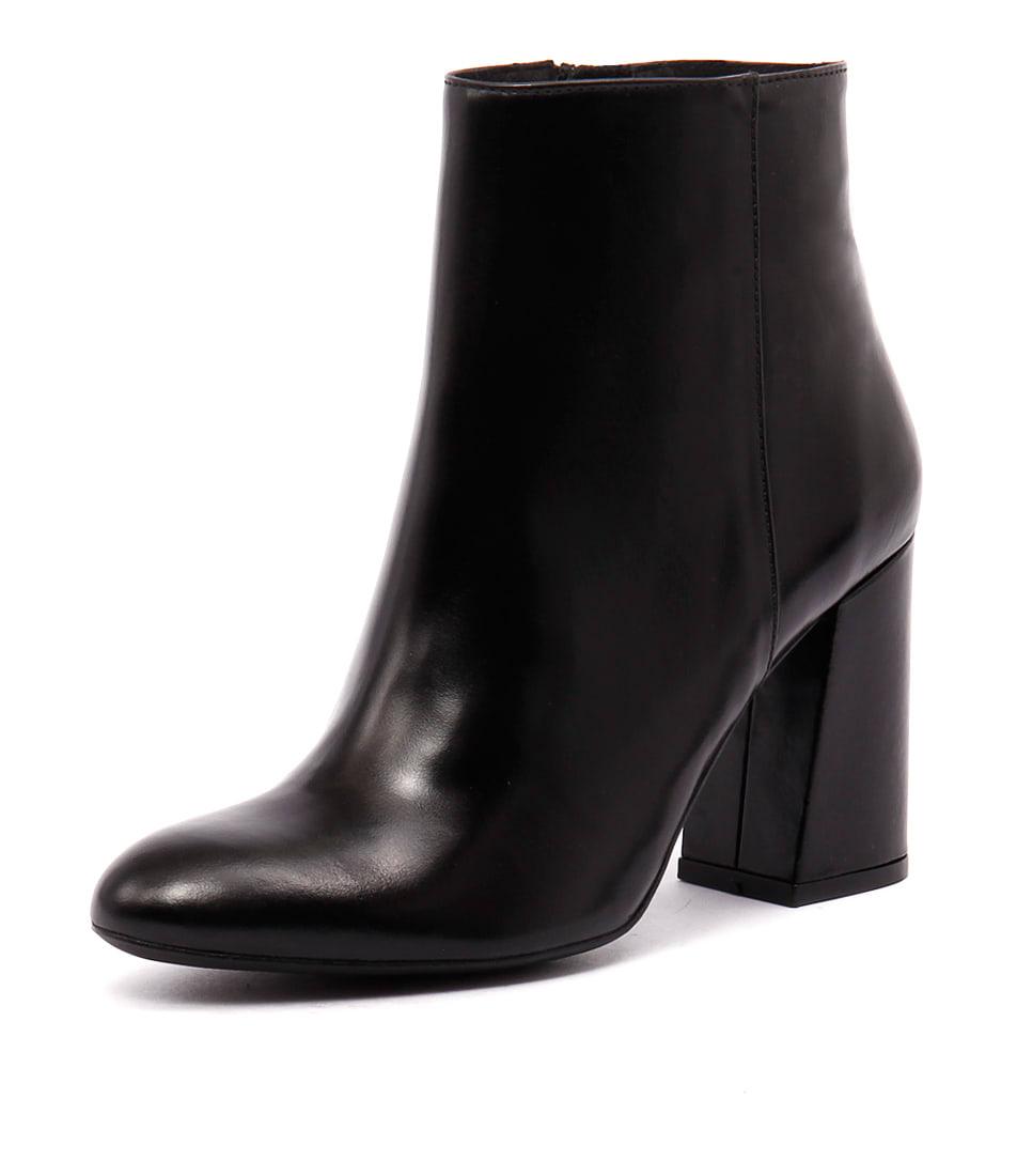 Sofia Cruz Taxi Black Leather Boots online