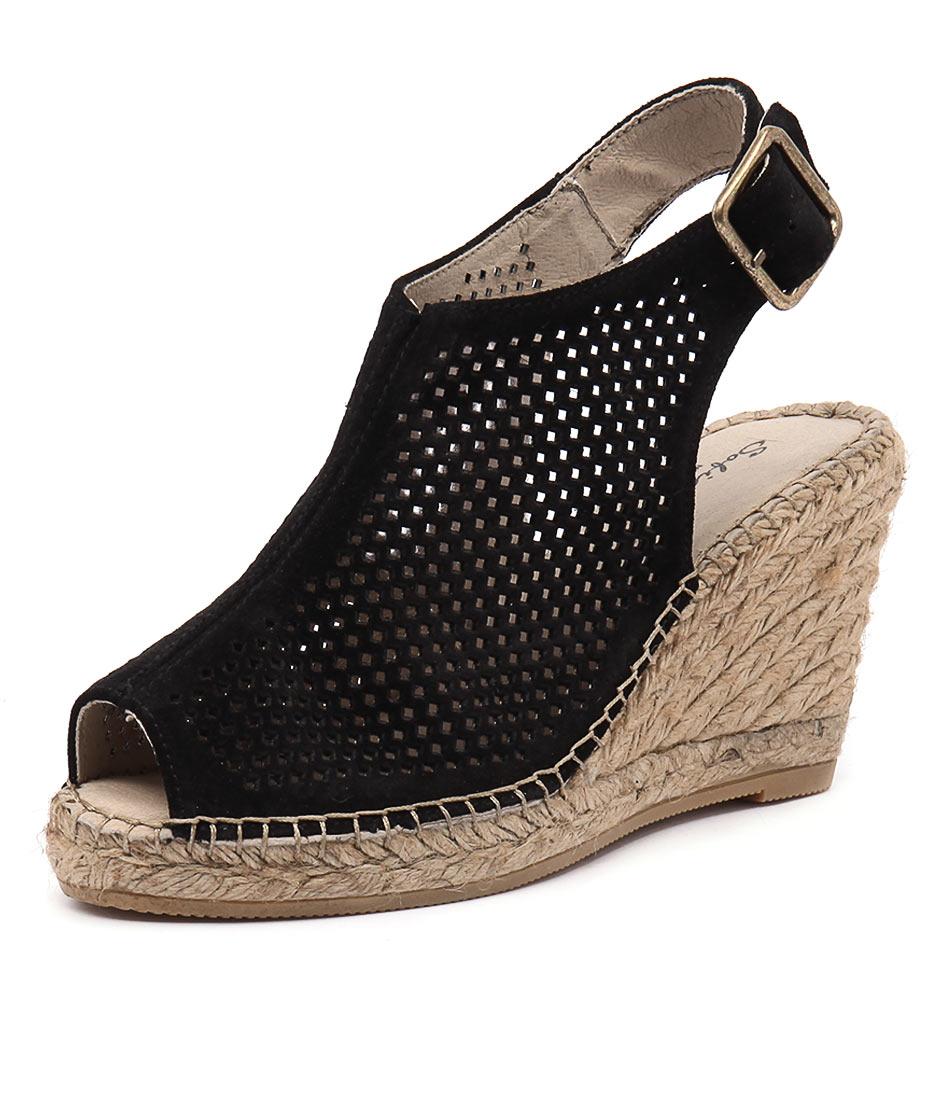 Sofia Cruz Carla 46 Negro Sandals