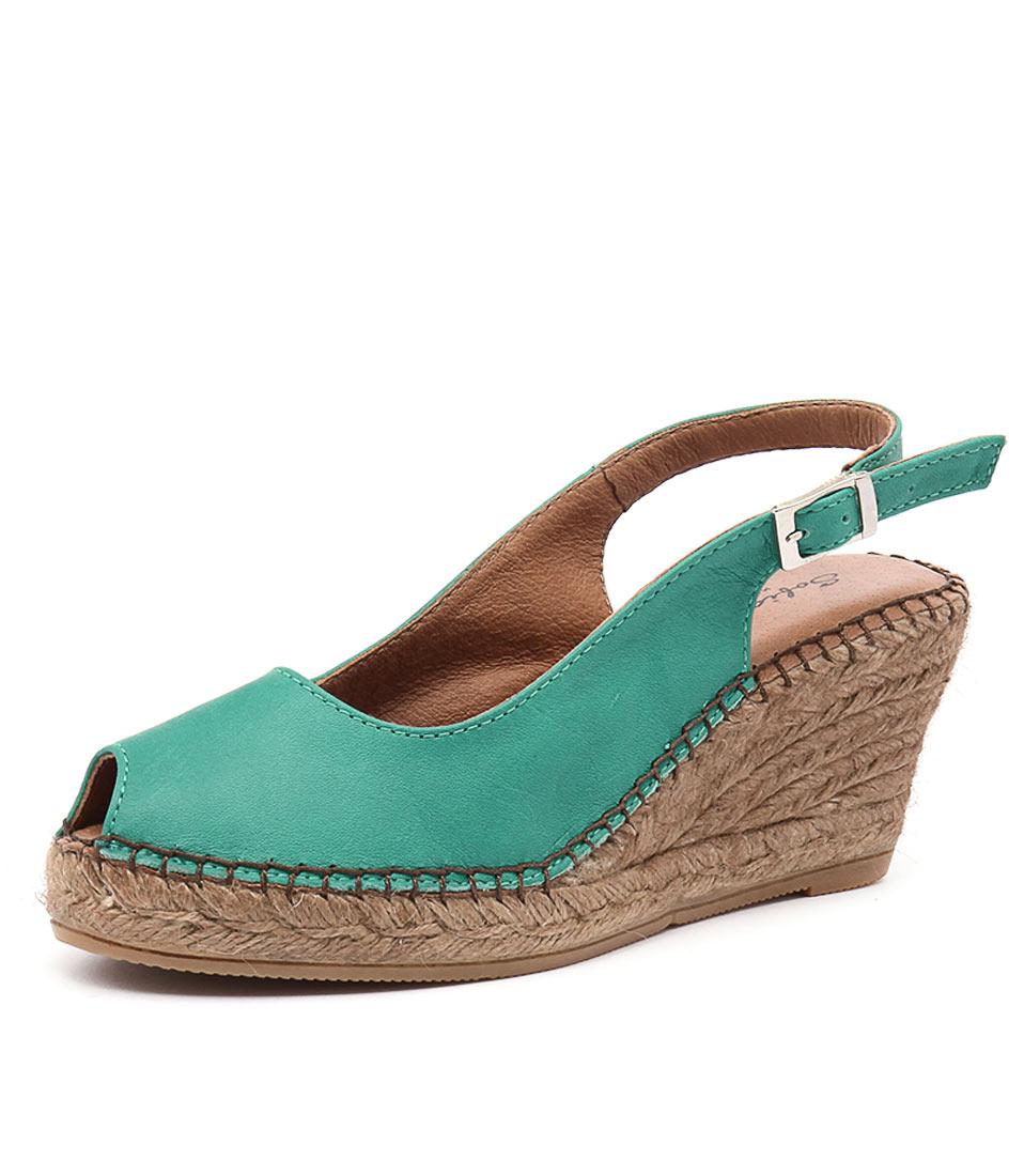 Sofia Cruz Ana 11 Verde Sandals