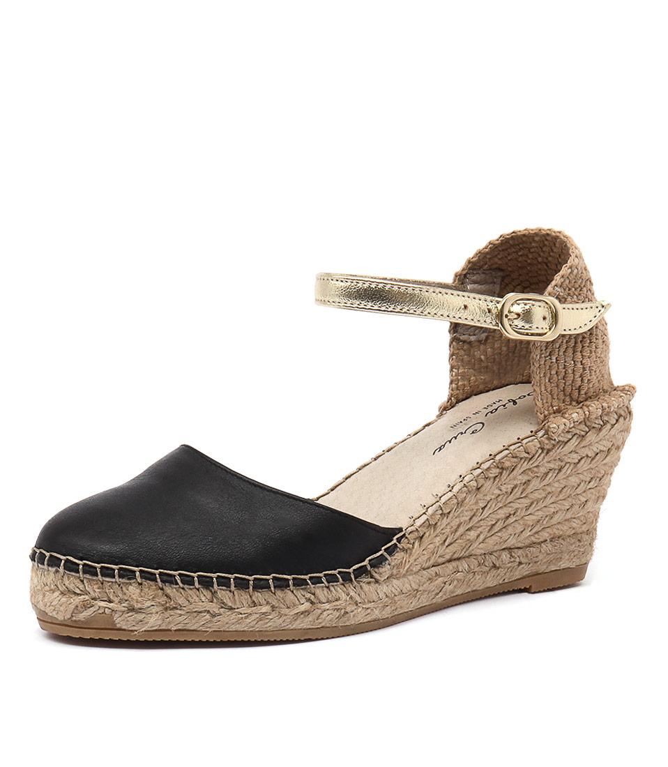 Sofia Cruz Alivia Negro Sandals