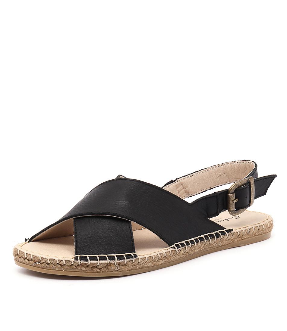 Sofia Cruz Playa 34 Negro Sandals