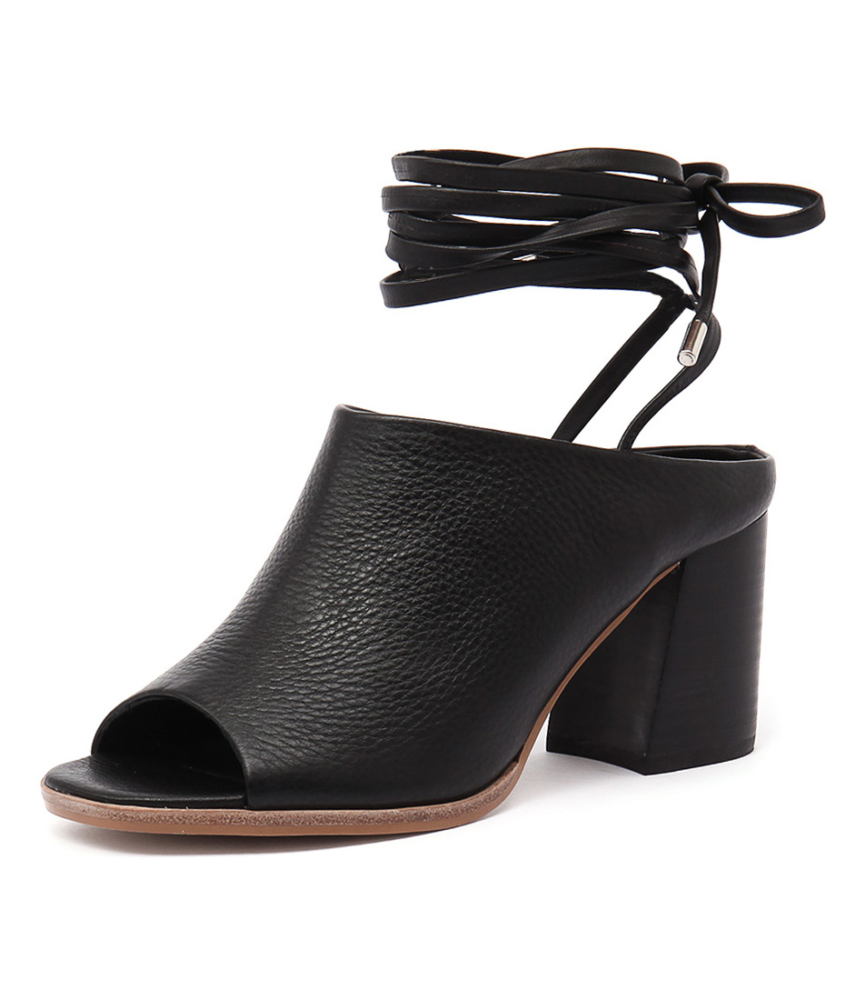 Sol Sana Rango Mule Black Sandals