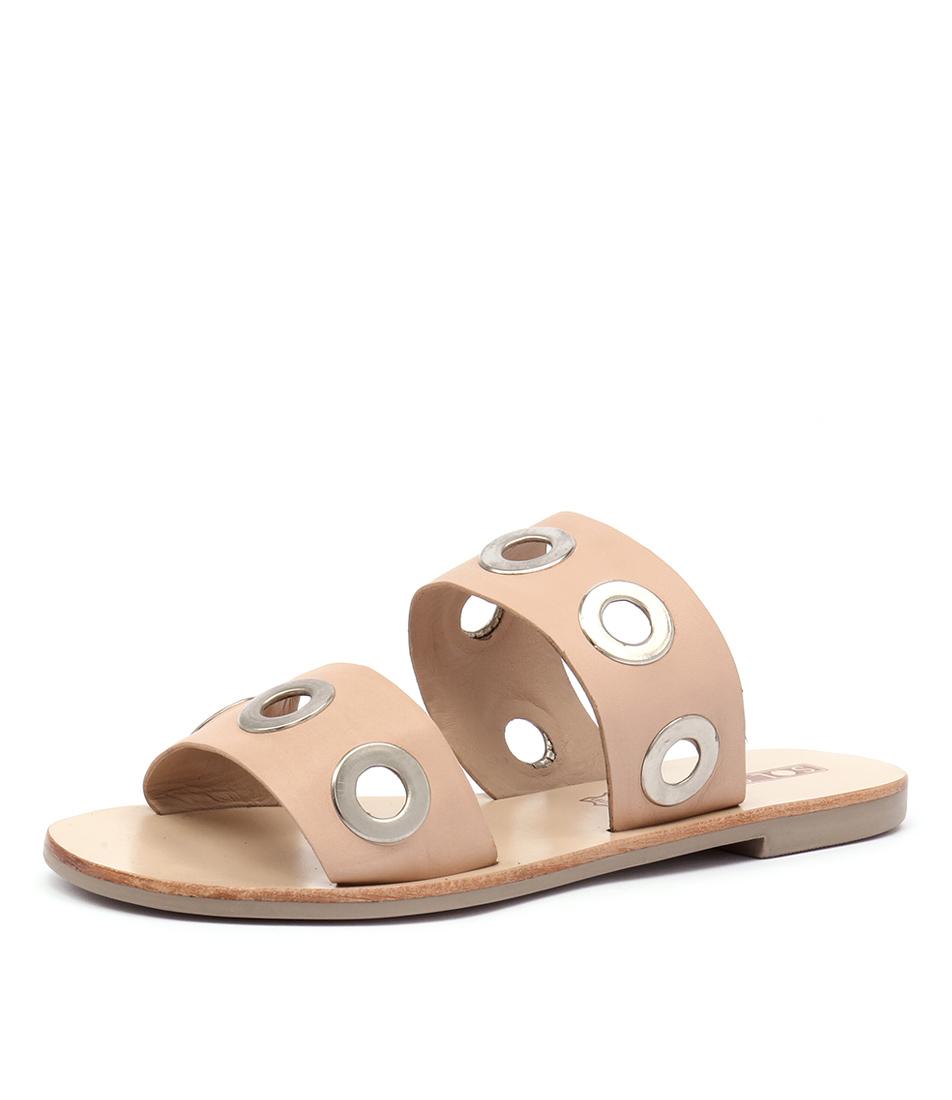 Sol Sana Hannah Slide Natural Sandals