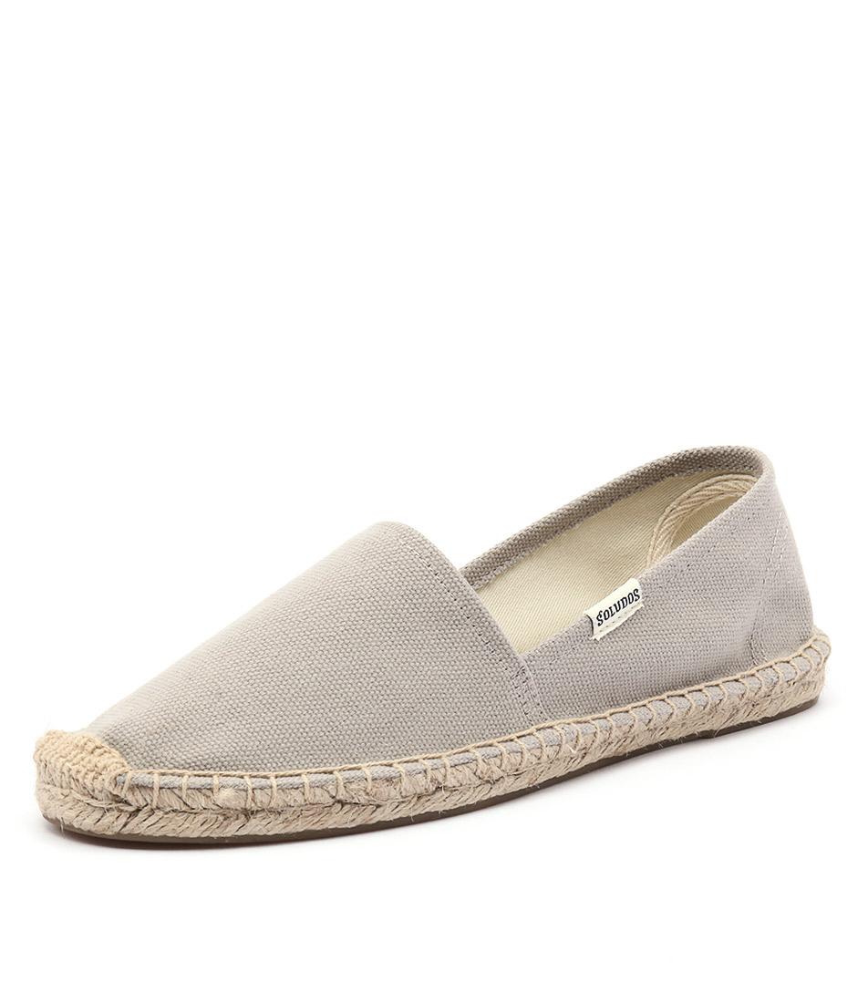Soludos Original Canvas Dali Grey Shoes