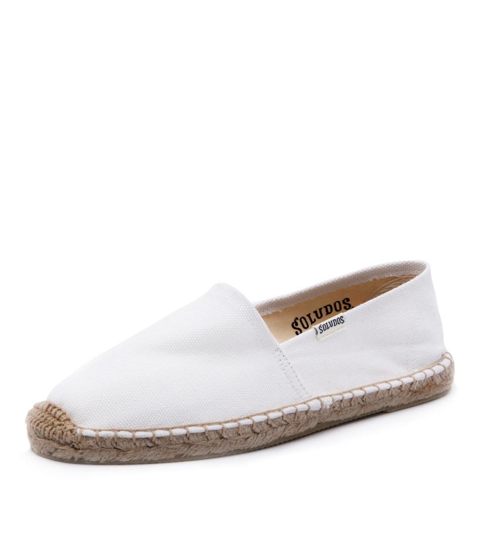 Soludos Original Canvas Dali White Shoes